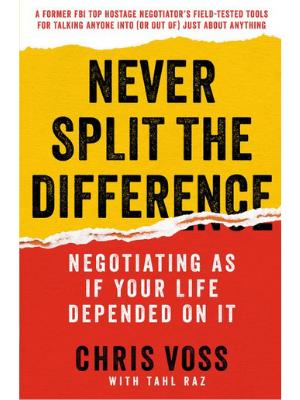 Negcjuj jakby od tego zależało Twoje życie - książka efektywność osobista